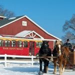 Door County winter trolley package