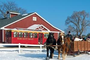 Door County winter trolley package