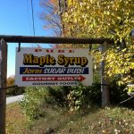 Jorns' Maple Syrup down the road from us.